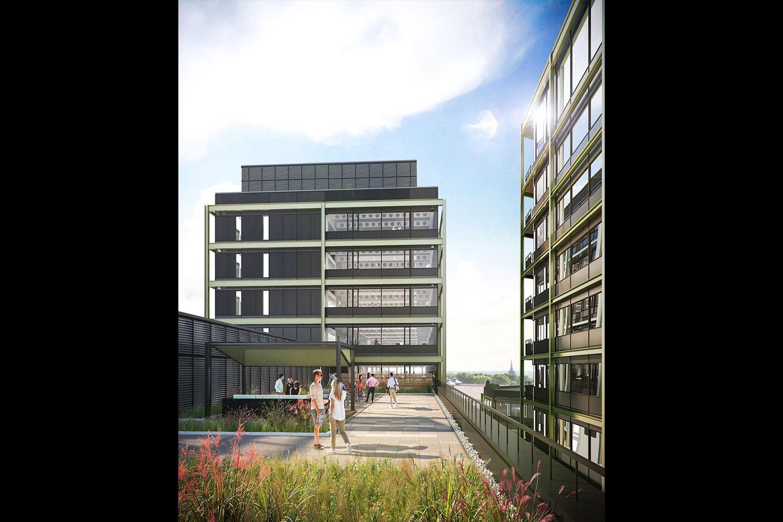 6th floor roof terrace