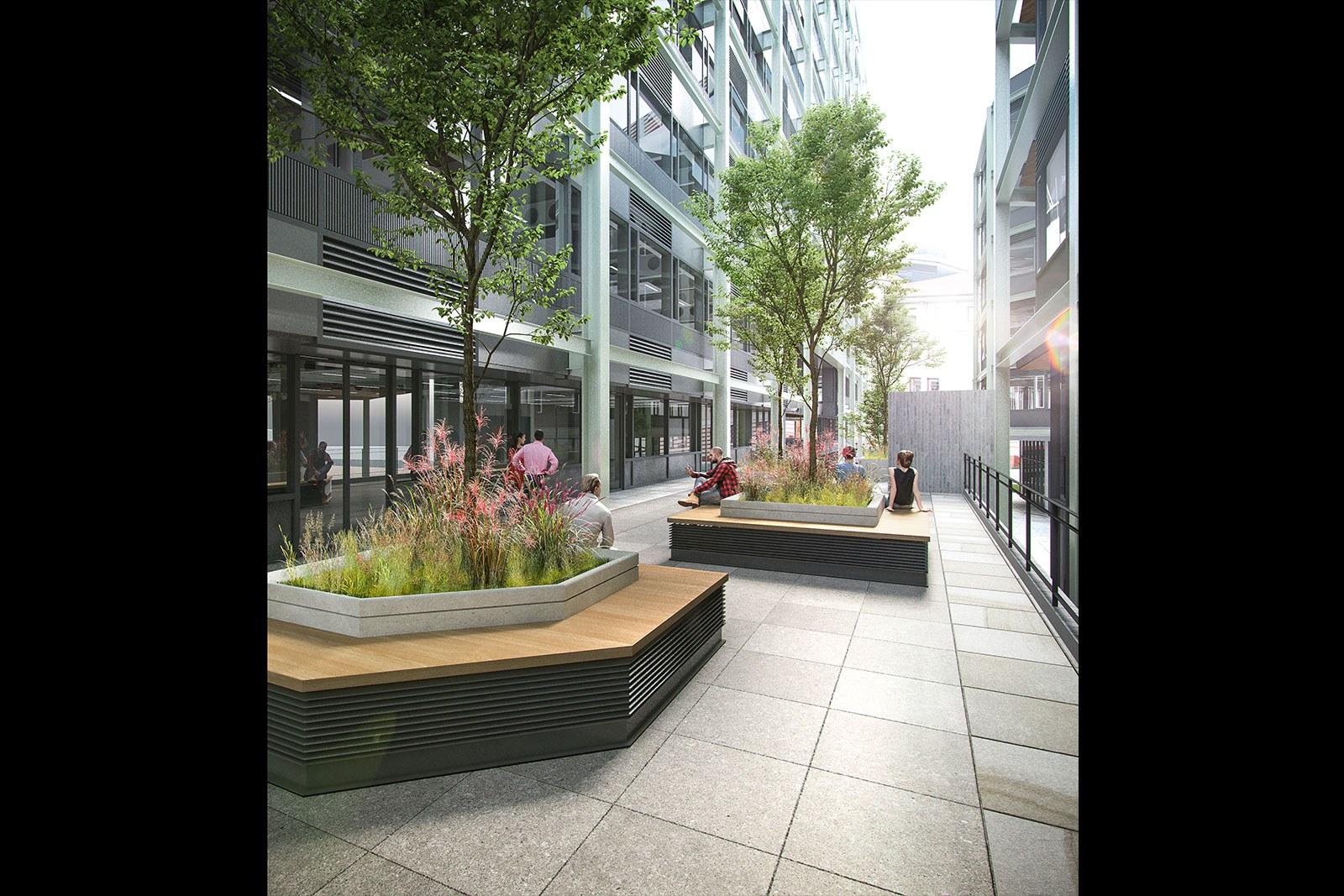 Assembly Bristol: Building A: Podium Terrace