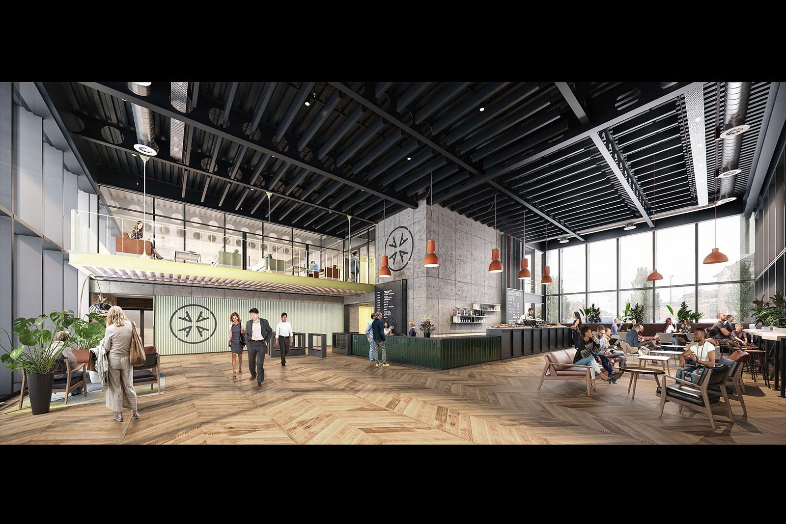 Assembly Bristol: Building A: Reception