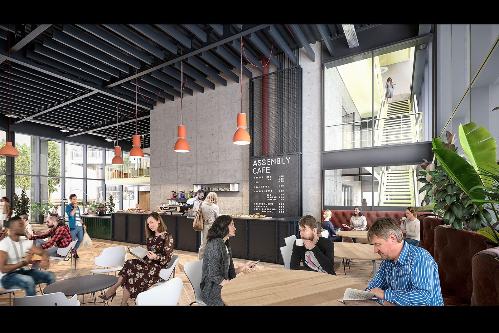 Assembly Bristol: Building A: Reception Café