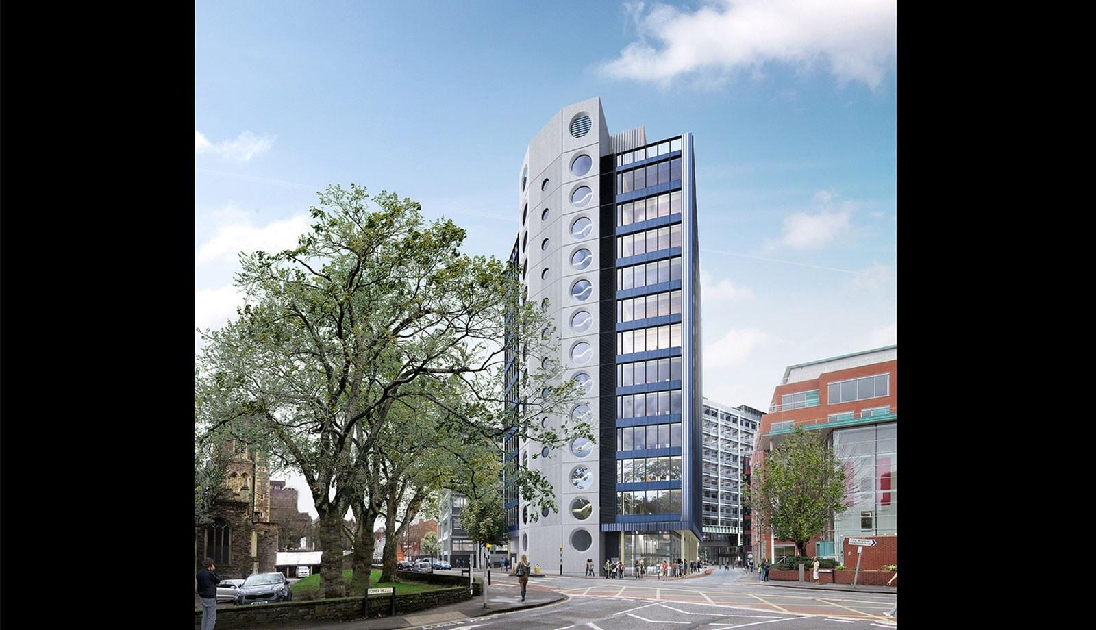 Assembly Bristol: Building C: North Elevation