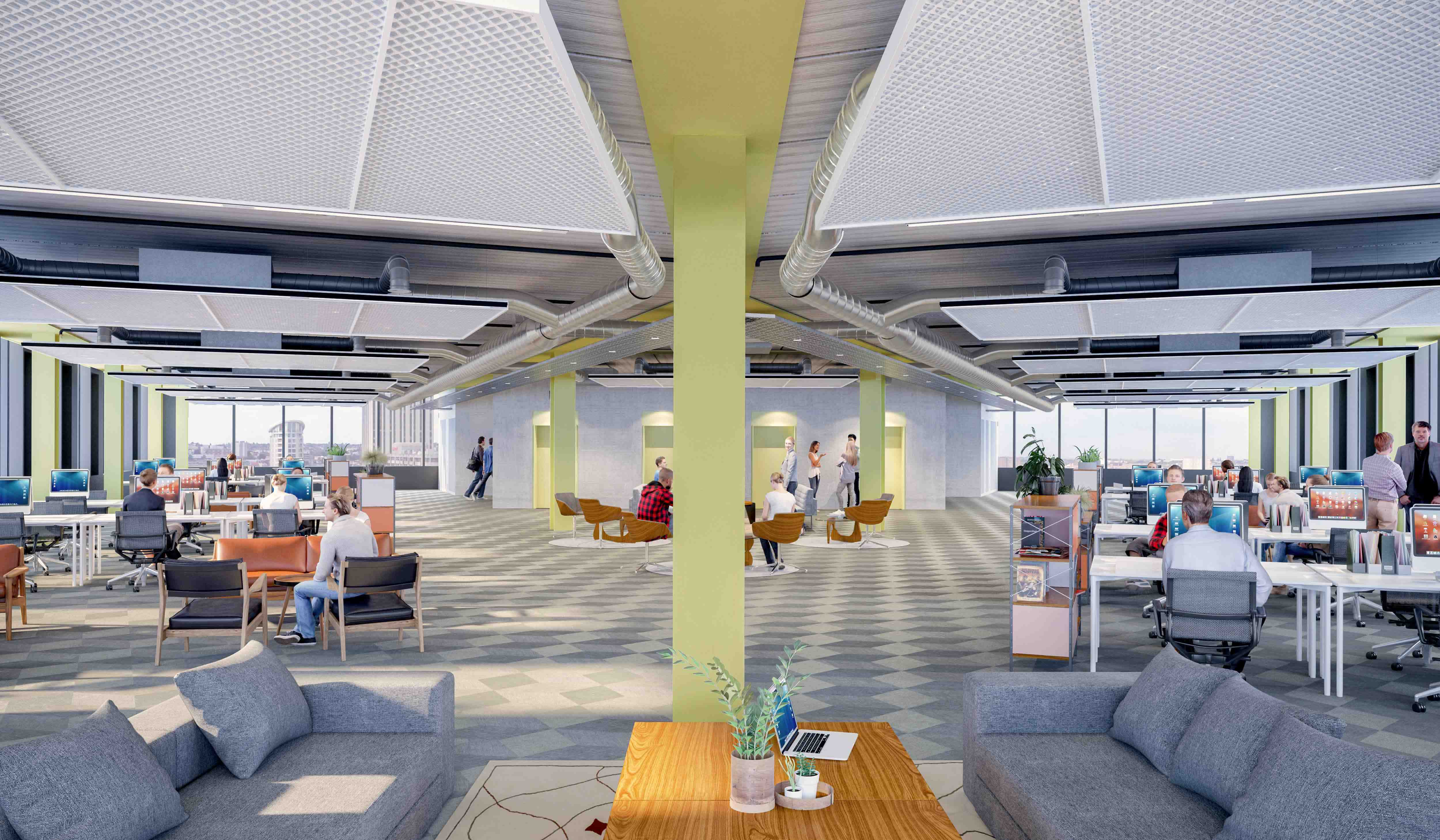 Assembly Bristol: Building C: Floorplate (Furniture)