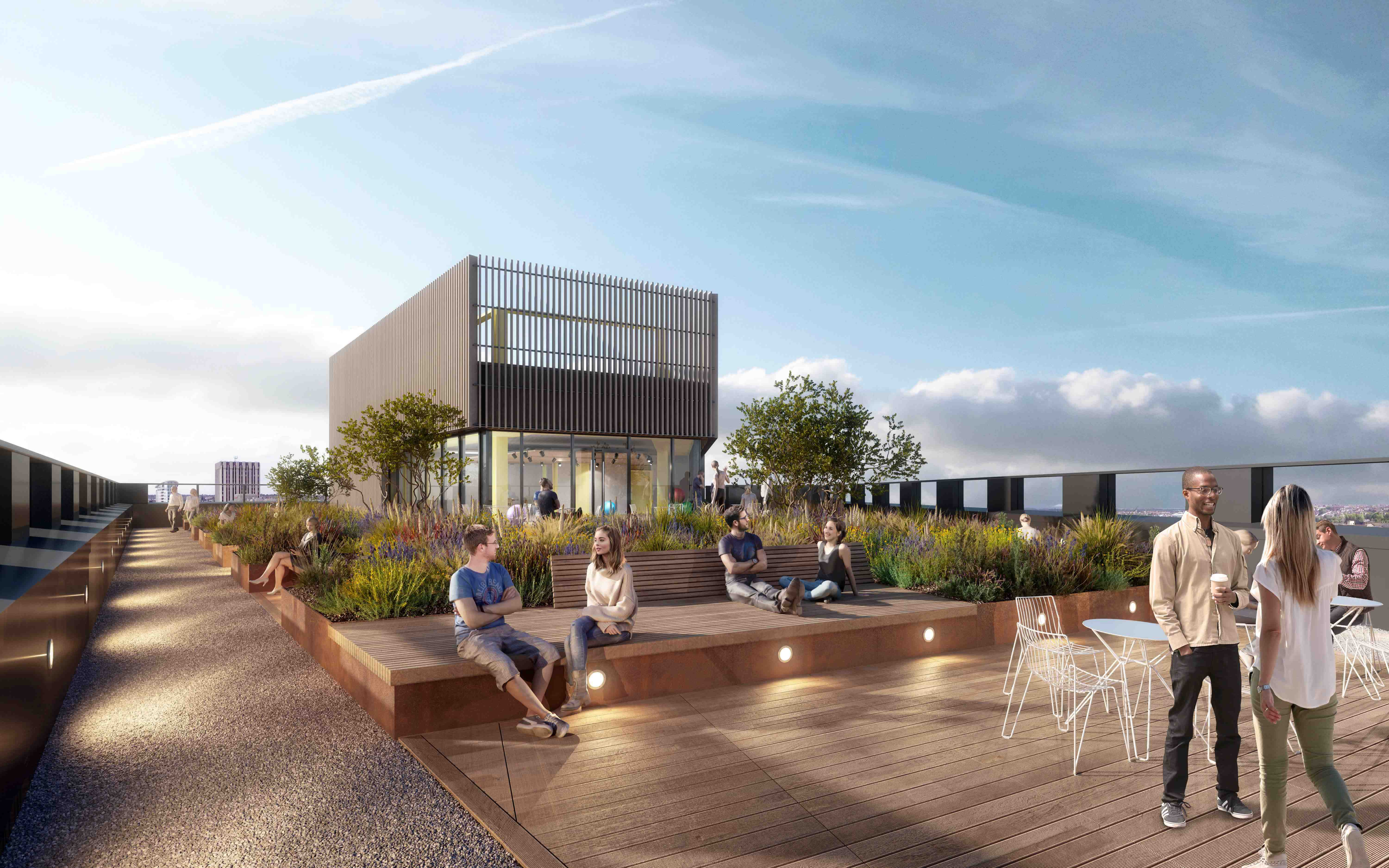 Assembly Bristol: Building C: Roof Terrace